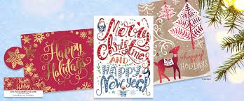 personalized christmas cards card packs current catalog