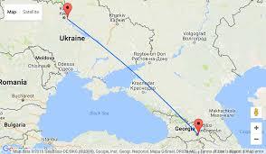 Kiev Map Skiing In Georgia Fly From Kiev Starting At U20ac88 2445 Uah
