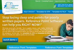 templates for mla and apa papers by reference point software