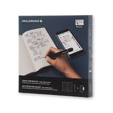 pen that writes on paper and transfers to computer amazon com moleskine smart writing set electronics