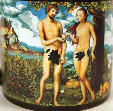 adam u0026 eve disappearing fig leaf mug ebay