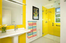 yellow tile bathroom ideas 16 beautiful bathrooms with the warm of yellow decor advisor