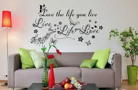 live the life you love wall decal wall sticker wall art live the life you love wall decal