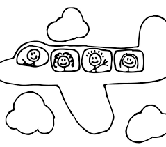 free printable airplane coloring 28 free coloring book