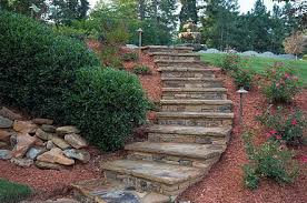 Landscape Ideas For Sloping Backyard How To Landscape A Steep Yard Atlanta Home Improvement