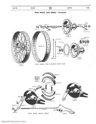 harley davidson 125 165 1948 u2013 1953 motorcycle spare parts manual