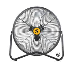 20 high velocity floor fan firtana high velocity floor fan 20 inch 3 speed 4650 cfm firtana 20x