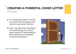 creating a powerful cv u0026 cover letter
