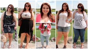 Plus Size Clothes For Girls Plus Size Fashion Summer Lookbook Sarah Rae Vargas Youtube
