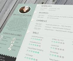 Resume Format For Web Designer 35 Best Free Resume Design Templates Themecot