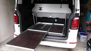 Werkzeugschrank Arbeitstisch Kombi Bauanleitung Zum Selbstbauanregung Heckauszug Für Vw T5 T6 California Multivan