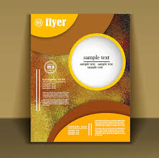 flyer design fashion cover brochure with flyer design vector 06 welovesolo