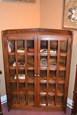 Arts And Craft Bookcase Arts Crafts Shelf Ebay
