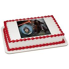 wars edible cake toppers kylo ren wars picture frame edible cake topper ren