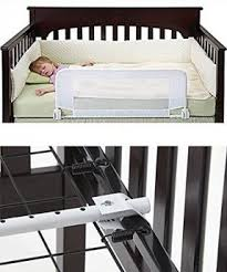 Safe Sleeper Convertible Crib Bed Rail by Universal Crib Conversion Rails Foter