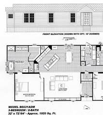 3 bedroom floor plan 2 bedroom floorplans modular and manufactured homes in ar