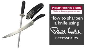 robert welch accessories how to sharpen a knife youtube
