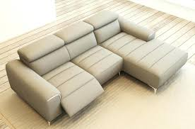 canap cuir gris clair canape relax cuir canape 3places relax electrique cuir blanc9715