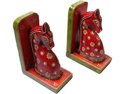 handcrafted horse design booked home decor buy wooden handicrafts
