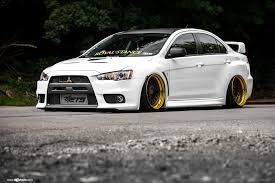 mitsubishi lancer evo 3 mitsubishi lancer evolution on air suspension by avant garde
