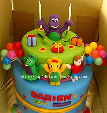 barney birthday cake taniya barney pop up birthday cake cupcakes for darien