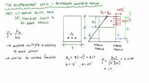 Reinforcement Ratio Explanation Reinforced Concrete Design YouTube - Reinforced concrete wall design example