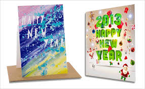 custom new year cards happy new year cards new year greeting cards