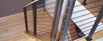 Banister Rails For Stairs Bay View Railing And Ornamental Inc