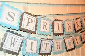 sprinkle baby shower sprinkled with baby shower banner sprinkle with