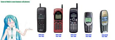 Nokia Phones Meme - some of nokia s most famous cell phones by redfield 1982 on deviantart