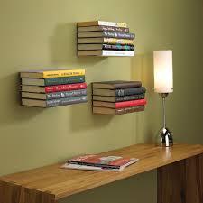 invisible bookshelf bored panda