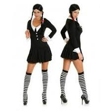 Wednesday Addams Halloween Costume 50 Minute Halloween Costumes Wednesday Addams Costumes