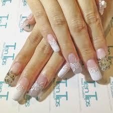 engagement nails by ten tips nail studio bridestory com