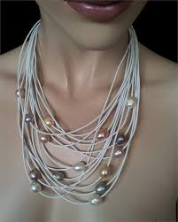 long pearl pendant necklace images 145 best necklace collar linen images beads jpg