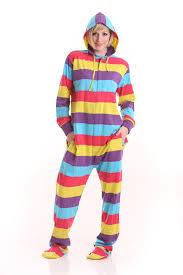 onesie pjs footed pajamas striped playsuit jumpsuit xs