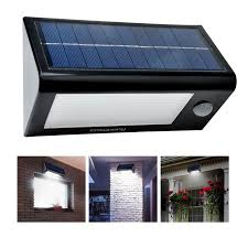 Outdoor Solar Panel Lights - 400 lumens 32 led solar powered pir motion sensor light by