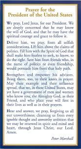 presidents of the united states prayer for the president of the united states u2013 open church foundation