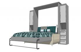 Murphy Bed Mattress Thickness Grand Wall Bed Murphy Beds Of San Diego
