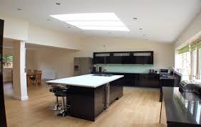 Open Plan Kitchen Design Ideas Designer Open Plan Kitchen Blue Kitchen Walls Blue Open Concept