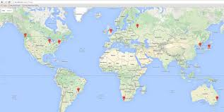 World Google Map by Google Map Panel Gmap And Loading Markers From A Store Extjs Tips