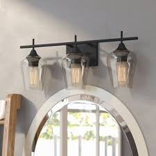 3 Fixture Bathroom Bathroom Vanity Lighting You Ll Wayfair Ca