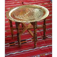 moroccan tea table stand moroccan brass tray ruggear me