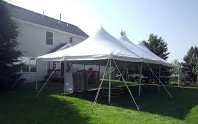rent a party tent 20ft x 40ft rope pole event tent rental elite