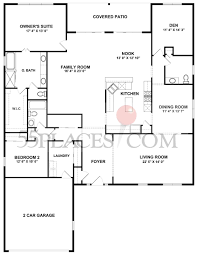 Del Webb Floor Plans by Buckingham Floorplan 2559 Sq Ft Sun City Huntley 55places Com