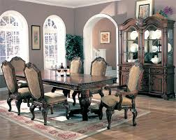 10 Piece Dining Room Set Regular Height Formal Dining Double Pedestal Dining Table Set Co