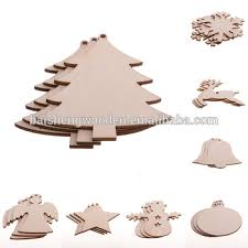 wholesale cheap laser engraved poplar wood ornaments