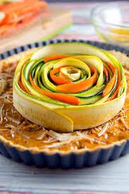 spiral vegetable tart bunsen burner bakery
