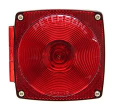 utility trailer light bulbs replacing bulb on peterson square trailer tail light 432400