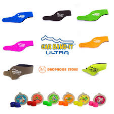 doctor headband ear band it ultra swimming headband with putty buddies earplugs