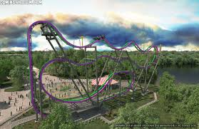 Six Flags New Jersery The Joker Hits Six Flags Great Adventure In Spring Of This Year